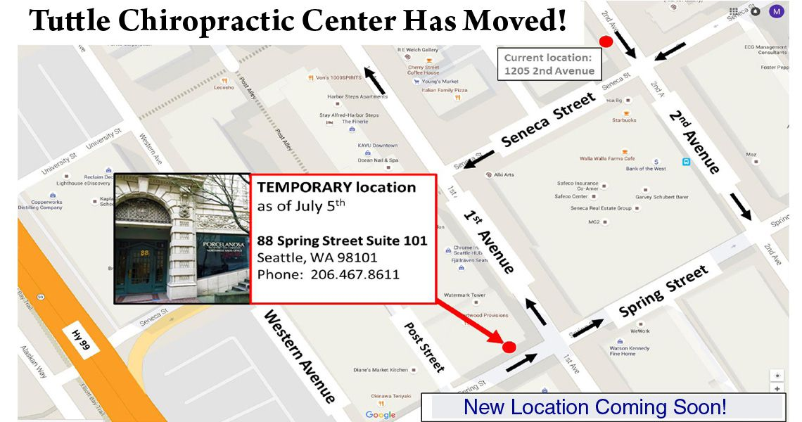 Downton Seattle Chiropractor Near Belltown and Pike Place Market